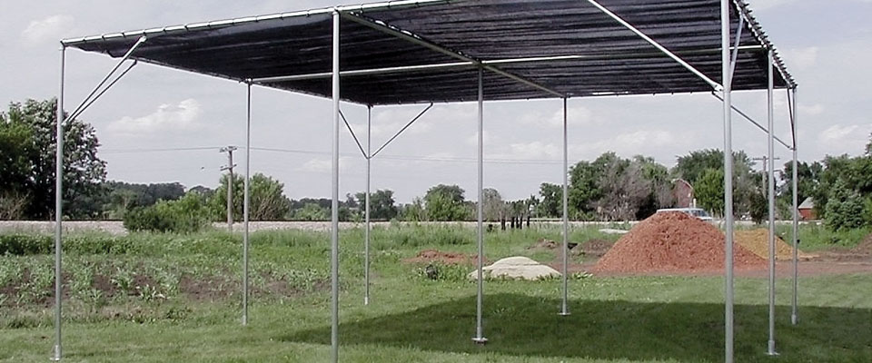 Expandable Shade House