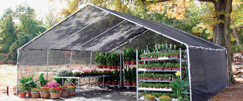build commercial shade houses