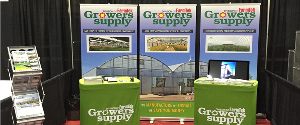Growers Supply display