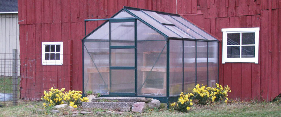 small greenhouse kit