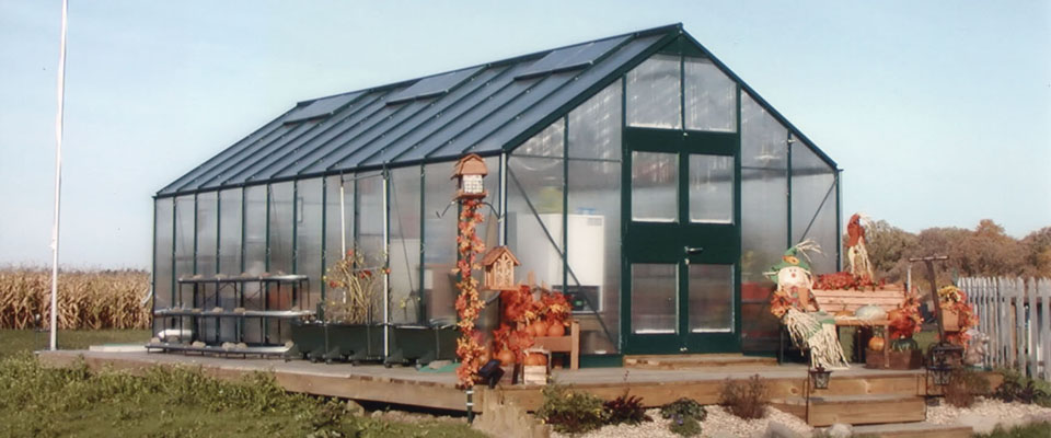 GrowSpan Estate Pro Greenhouses