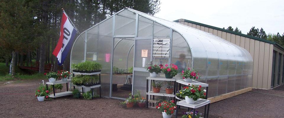 gothic greenhouses