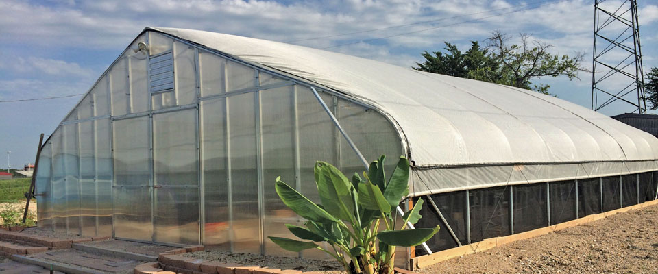 GrowSpan Gothic Pro Greenhouses