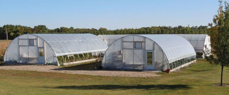high tunnel greenhouses