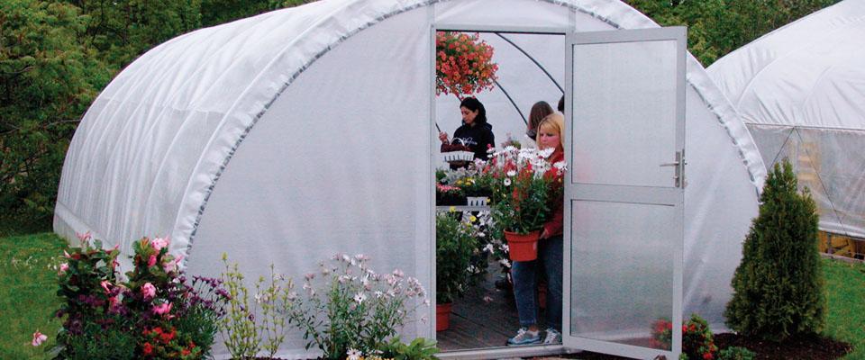 Round Hobby Pro Greenhouses