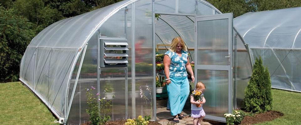 round greenhouse