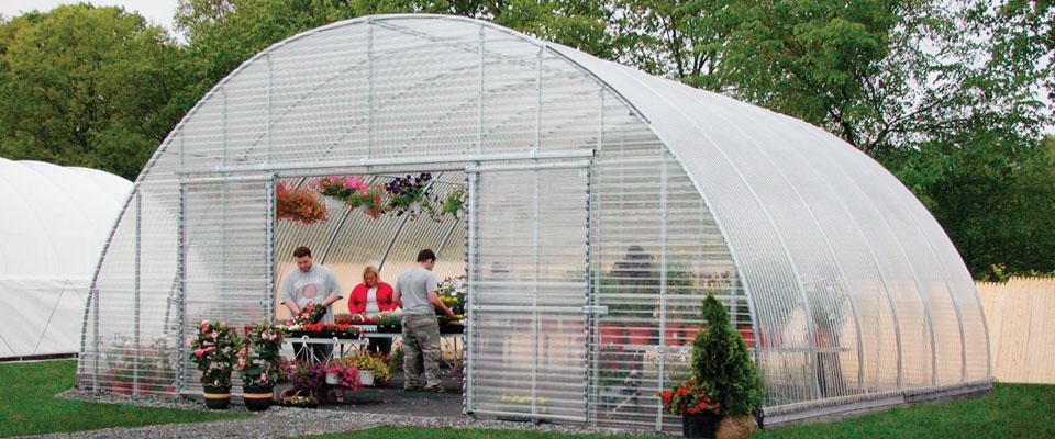 round greenhouses