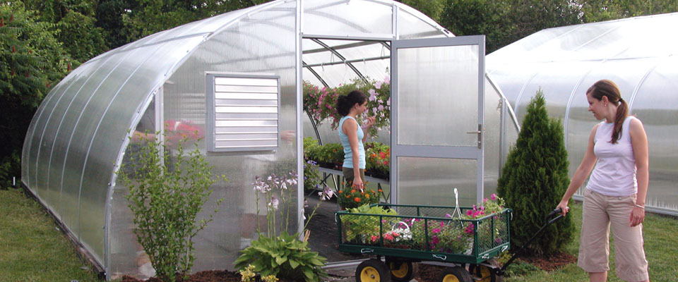 round greenhouse kit