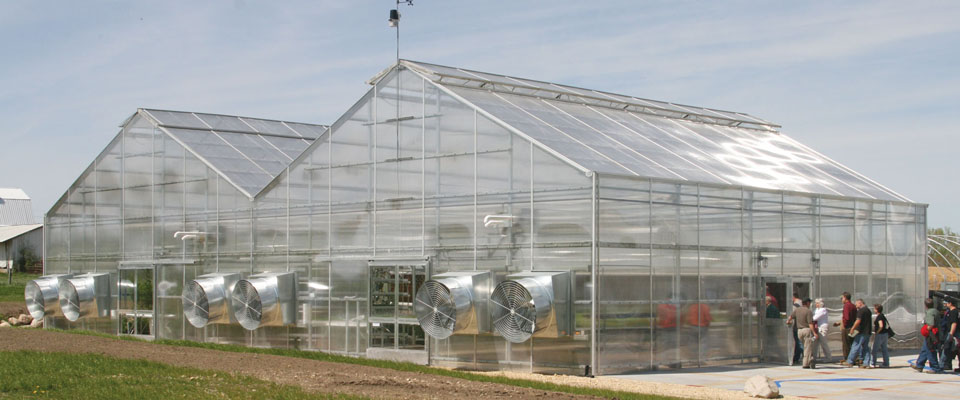 Commercial Greenhouses Growspan