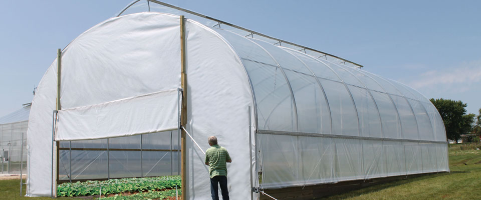 GrowSpan Series 500 Tall High Tunnels