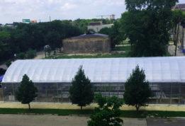 Herban Produce aerial shot