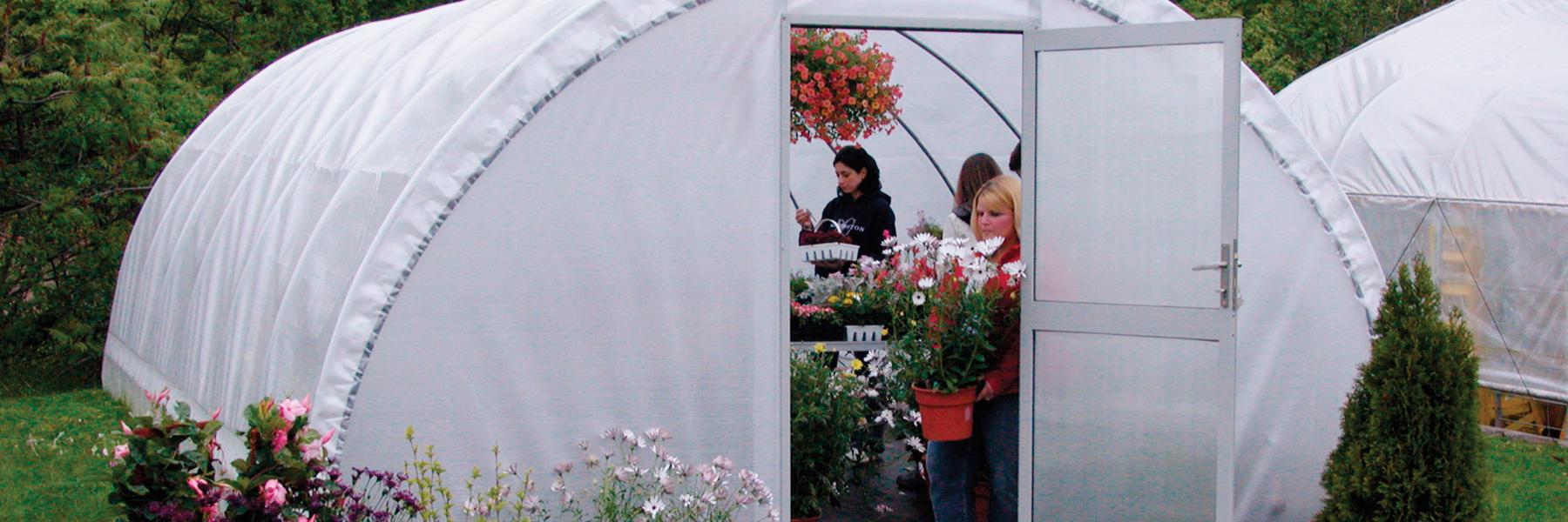 Round Pro greenhouse