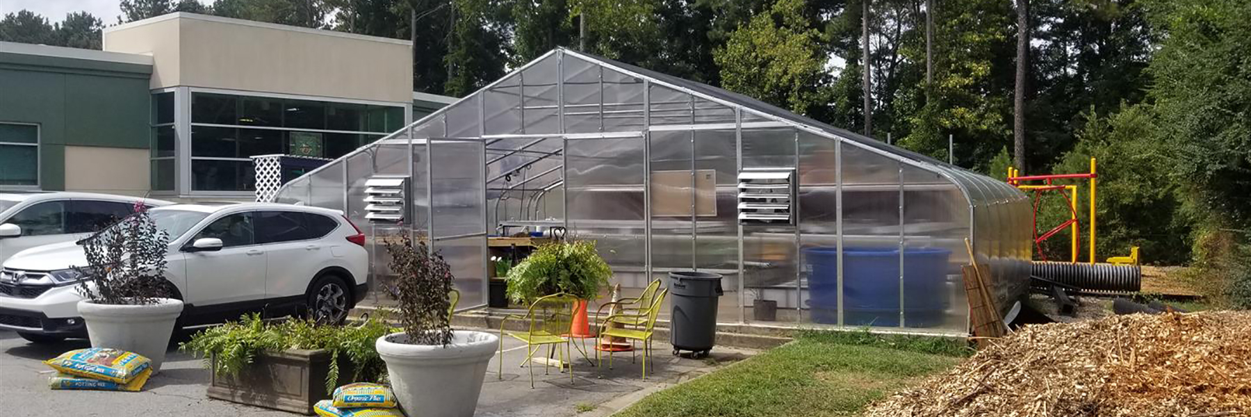 premium greenhouse inside