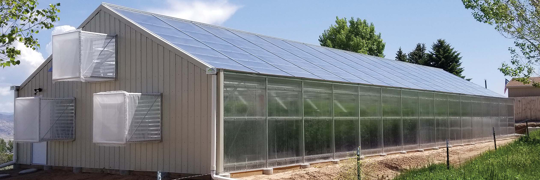 Parachutte Greenhouse