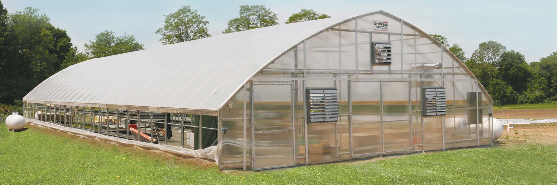 Rosendale Greenhouse exterior