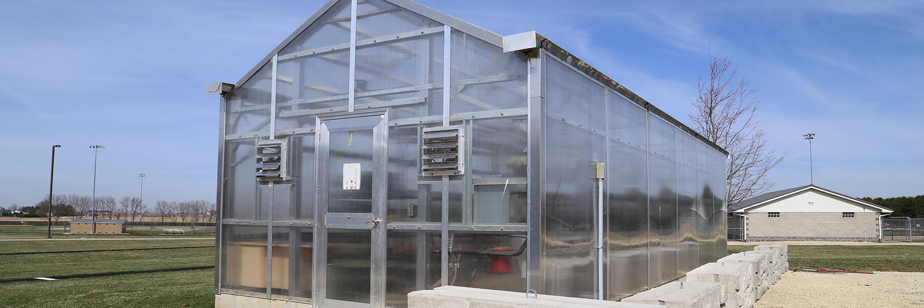 Educator greenhouse interior